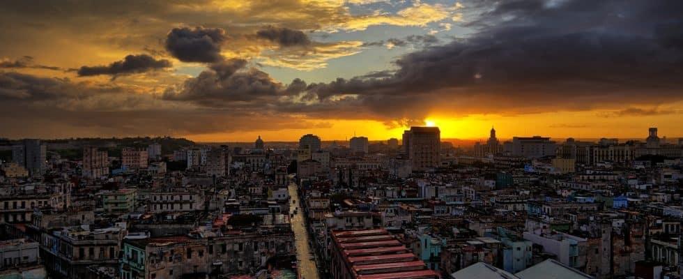 paysage cubain de la havane