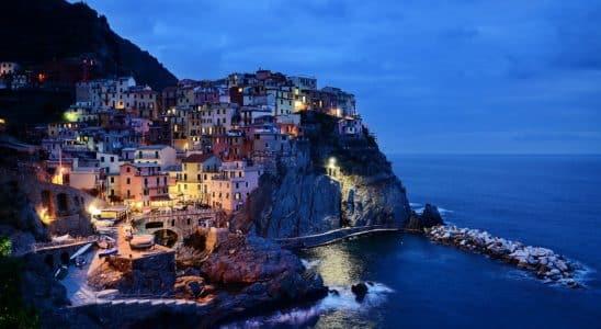 Village du sud de l'Italie