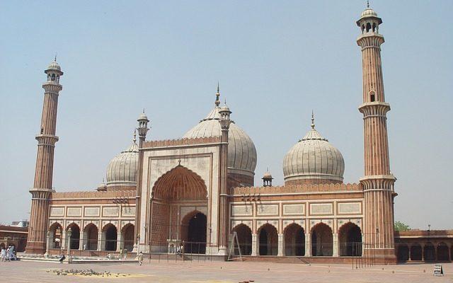 mosquee new delhi