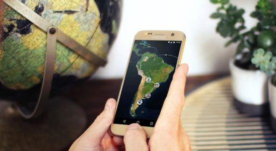 voyager avec un iphone