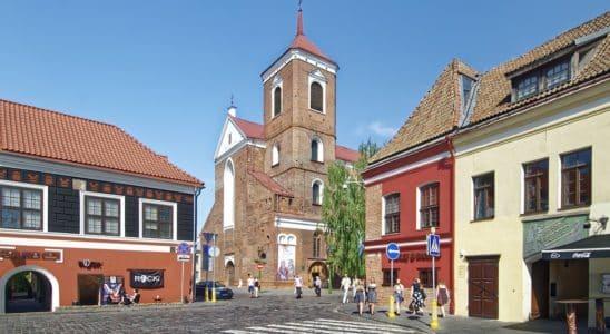 Kaunas en lituanie