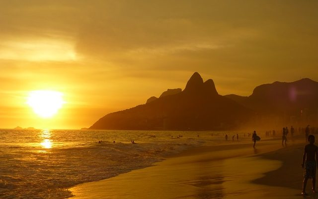 paysage plage bresil