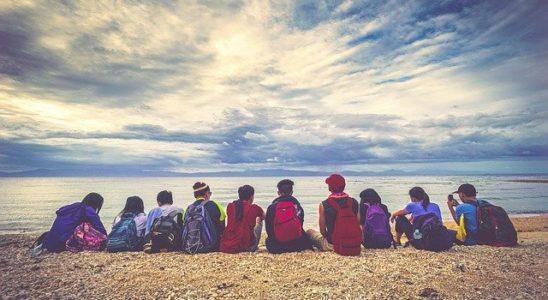 enfants en colonie de vacances