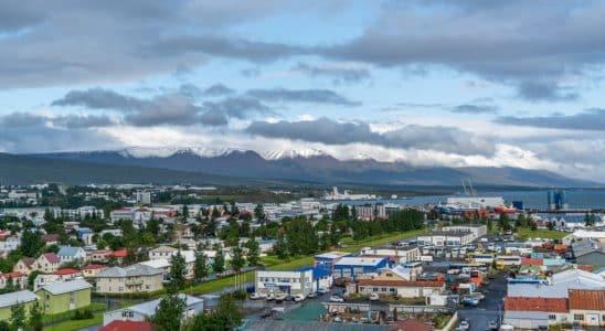 akureyri en Islande