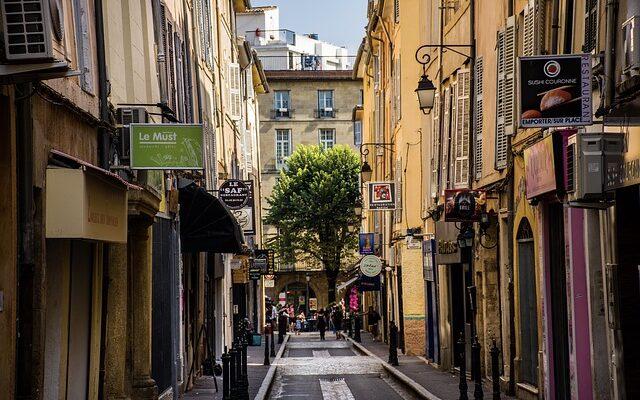 centre ville d'aix en provence